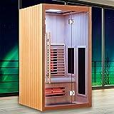 Sauna Boreal 110 Infrarouge à Spectre Complet - 110x110x200