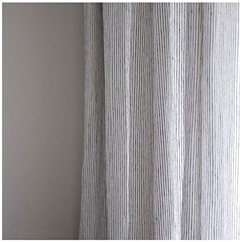 Rideau coton blanc