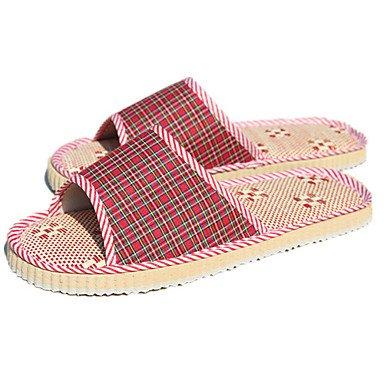 LQXZM Women's Slippers & amp; Flip-Flops Summer Comfort Linen Casual