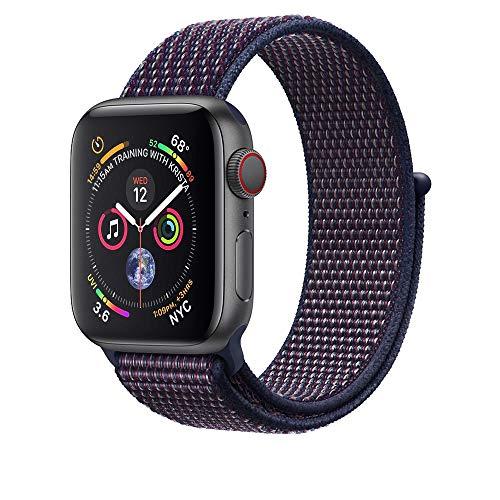 Corki für Apple Watch Armband 38mm 40mm, Weiches Nylon Ersatz Uhrenarmband für iWatch Apple Watch Series 4 (44mm), Series 3/ Series 2/ Series 1 (42mm), Indigo