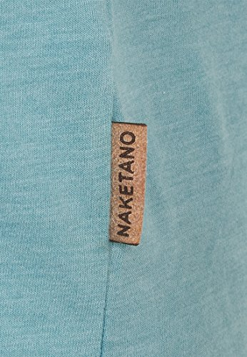 Naketano Female Shortsleeve Acid Girl VII Heritage Fresh Blue Melange