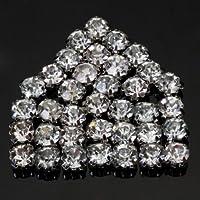 MaltonYO17 - 40 cuentas de cristal de imitación para coser (5 mm)
