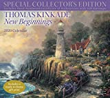 Thomas Kinkade New Beginnings 2020 Calendar: Special Collector's Edition Includes Hand-Numbered Certificate of Authenticity with Gift Envelope