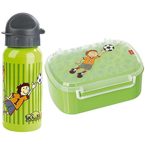 Sigikid 2er Set 23795 24781 Trinkflasche Kily Keeper + Brotzeitbox Kily Keeper