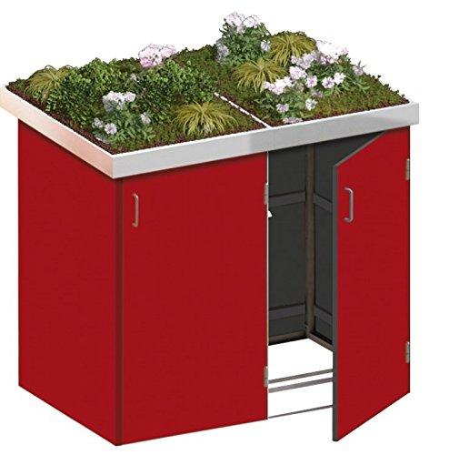 Mülltonnenbox 3 Mülltonnen