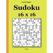 Sudoku 16 x 16 Band 2