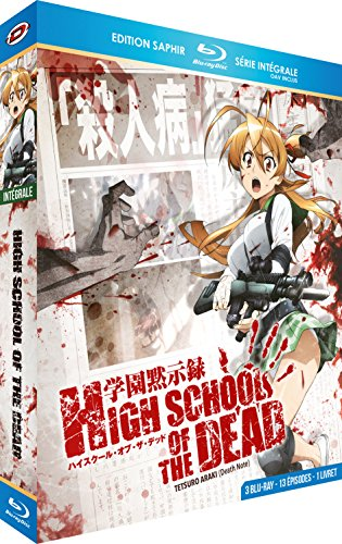 High School of the Dead - Intégrale + OAV - Edition Saphir [3 Blu-ray] + Livret