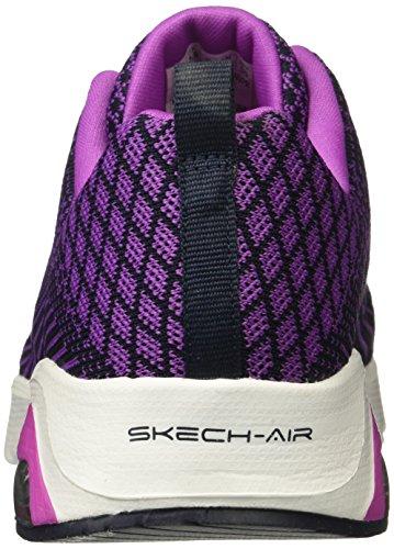 Skechers - Skechair Infinity-modern Chic, Scarpe tecniche Donna Nero (BKHP)