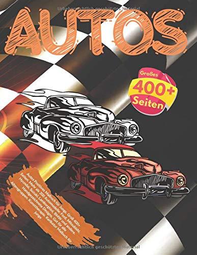 Autos Positives Malbuch für Jungs. Groß 400+ Seiten. Mehr als 200 Automodelle: Ford, Mitsubishi, Hyundai, Suzuki, Lamborghini, BMW und andere. ... Kunsttherapie. Karikatur Malbuch für junge (Auto-malbuch Klein)