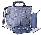 okiedog SUMO 37011 borsa per pannolini/borsa per pannolini zaino incl. accessori URBAN, jeans