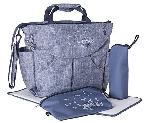 okiedog SUMO 37011 bolsa de pañales/bolsa de pañales Mochila incl. accesorios URBAN, jeans