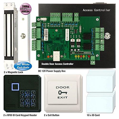 Soter) ® 2tür Zugang Controller Board RFID-Karte Netzwerk Office Security System + Haftkraft 280kg elektrische Tür Magnetic Lock (Card Access Door Lock)