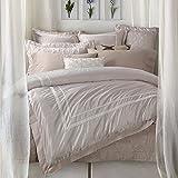 Man Einfache Satin aus reiner Baumwolle Farbe 4 Set, kontinentale Amerikanische Betten gesetzt , King Size