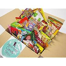 52 Japanese Candy and Snack Okashi Set with original Japanese Candy Ninja sticker
