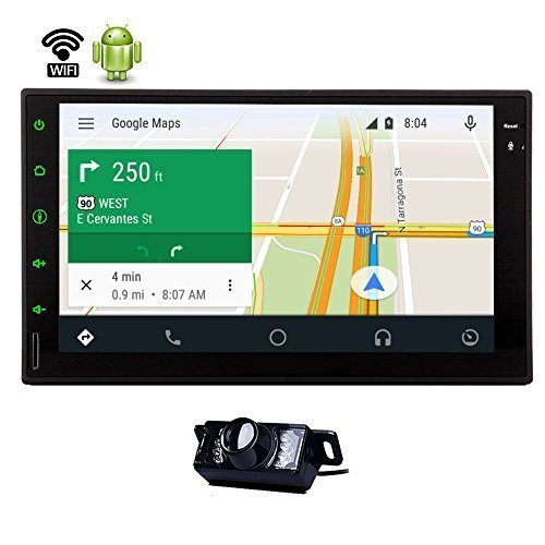 7 Inch Car Stereo Autoradio android 4.2.2 Tablet Car Stereo Video in-dash GPS 3D Navigation WIFI 3G Internet Multi-touch screen FM AM radio APP USB Bluetooth Mic AUX with Map Card and Backup Camera