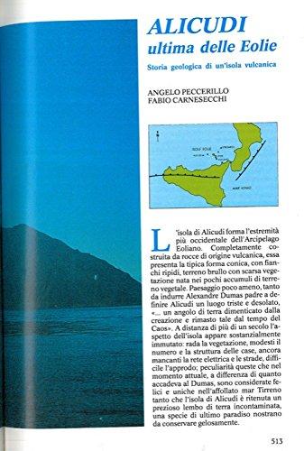 Alicudi ultima delle Eolie. Storia geologica di un'isola vulcanica.