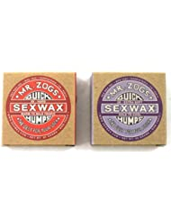 Sex Wax Quick Humps Mr Zogs Cera para tabla de sur, base y acabado, agua fría