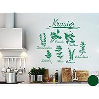 Suchergebnis auf Amazon.de für: wandtattoo kraeuter: Küche, Haushalt ...