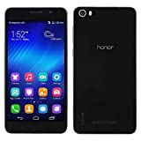 Huawei Honor 6 Smartphone Dual Sim Android 4.4 Octa Core 16Gb 4G Schwarz