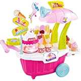 Sweet Ice Cream Candy Shop Car With Soft Light And Sound For Kids(HCCD Enterprise)