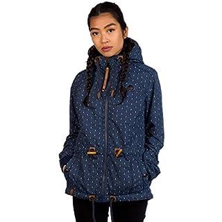 Naketano Damen Kapuzenjacke blau XL