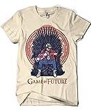 1501-Camiseta Game Of Thrones - Game Of Future (Arena, XXL)