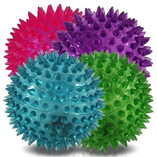 6 x Spikes Ball LED Disco Tanztanz mit Blinklicht