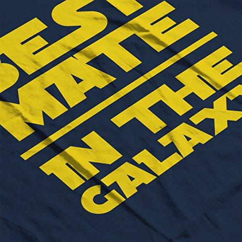 Star Wars Best Mate In Galaxy Men's Vest Navy Blue