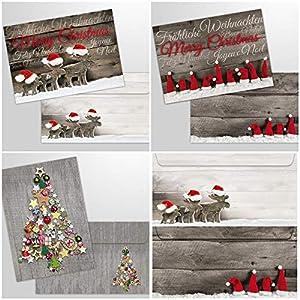 15 tarjetas de Navidad con
