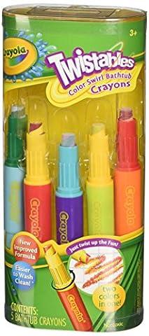 Crayola - Color Swirl Crayons - 5 Crayons