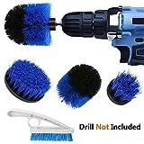 PDTO Drill Brush Set - Power Scrub Brush Drill Attachment & Tile Brush