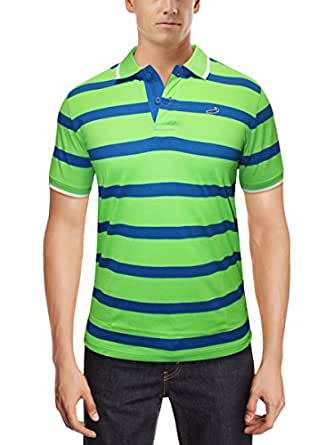 Crocodile Mens T-Shirt-Lt.Green-Small