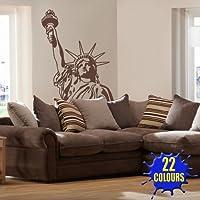 Estatua de la libertad–Pegatina para pared de dormitorio (tamaño grande)