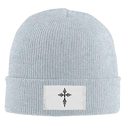 fboylovefor Cross Knit Beanie Skull Cap Cuff Beanie Hat Toboggan Hat Warm Winter Hat