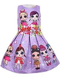 Socluer Bambole Sorpresa Bambine Abiti Gonna da Principessa Abiti da Sera  Buoni Regalo Natale per Le 636af2c4b97