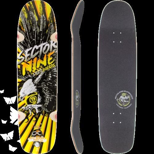 sector-9-budro-pro-deck-skateboard-yellow-by-sector-9