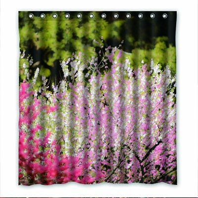 dalliy Custom Peach Blossom Rideau de douche Polyester 167cm x 183cm, Polyester, E, 66