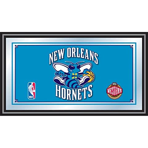 NBA New Orleans Hornets Logo Framed