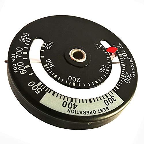 SADA72 Termómetro de Tubo de Estufa, medidor magnético, termómetro de Tubo de...