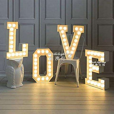 LINA-Moderno e minimalista romantico Regali di San Valentino per le coppie delle lettere d