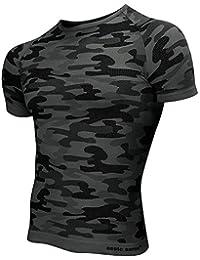 Sesto Senso Camiseta Térmica De Manga Corta Para Hombres Militaria Krr