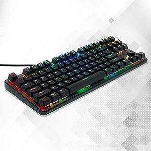 XiY RGB Kabel Notebook-Computer Tablet-Maschine Ergonomischer Tastatur-Hintergrundbeleuchtung-Legierung Mit 20…