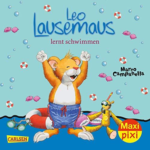 Maxi Pixi 255: Leo Lausemaus lernt schwimmen - Pixi-duo
