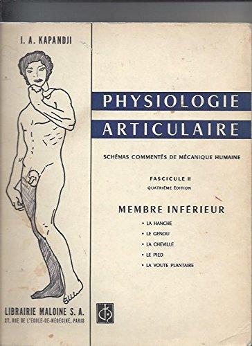 Physiologie articulaire: Schémas commentés de mécanique humaine