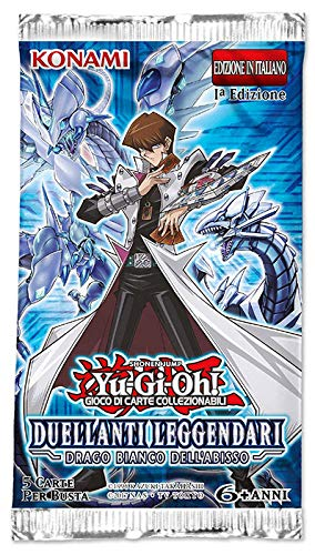 Duellanti Leggendari: Drago Bianco dell'Abisso - Busta 5 carte (IT)