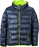 James & Nicholson Herren Jacke Daunenjacke Men's Down Jacket grau Medium