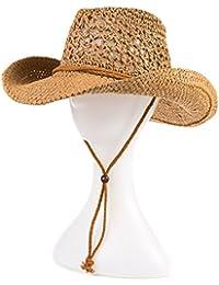 HTDZDX Sombrero de Sol al Aire Libre Sombrero de Vaquero de Verano Sombrero de Vaquero de