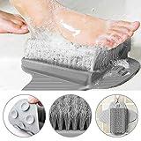 PERFETSELL Brosse à récurer les pieds Masseur pour pieds Masseur Brosse de douche avec ventouses antidérapantes et tapis de massage doux pour acupressure des pieds pour soins des pieds