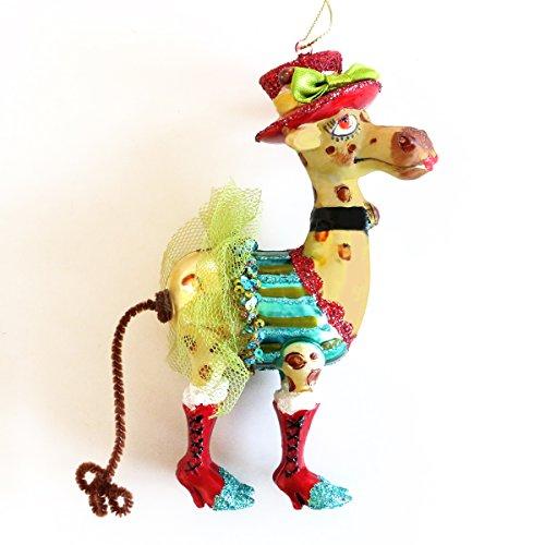 Gift Company Hänger Giraffe Lady, mit rotem Hut | GC-10683 | 4030195705509