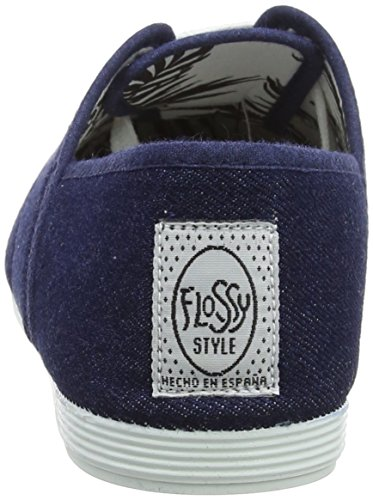 Flossy Damen Costa Oxfords Blue (Denim 000-Dm)